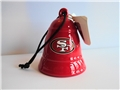 San Francisco 49ers NFL Bell Ornament *CLOSEOUT* - 12 Count Case