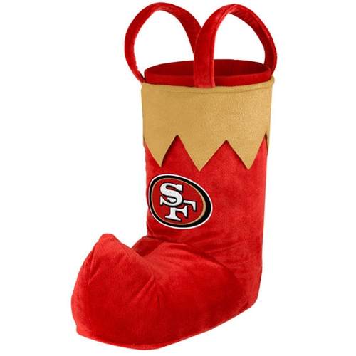 San Francisco 49ers NFL Standing HOLIDAY 24'' Christmas Stocking