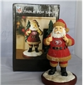 San Francisco 49ers NFL Table Top Resin Santa Figurine