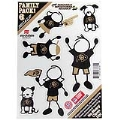 Colorado Buffaloes NCAA 6 Pack Family Decals Small *CLOSEOUT*