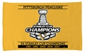 "Pittsburgh Penguins NHL 5x Stanley Cup Champions 16"" x 25"" Sport Towel **NEW**"