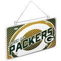 Green Bay Packers NFL Metal License Plate Ornament *SALE*