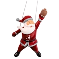 Alabama Crimson Tide NCAA Action Santa Ornament *SALE*