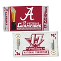 "Alabama Crimson Tide 2017 NCAA National Champions 22"" x 42"" Spectra Locker Room Bench Towel *NEW*"