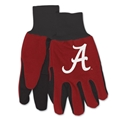 Alabama Crimson Tide NCAA Two Tone Sport Utility Work Gloves *NEW*