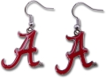 Alabama Crimson Tide A NCAA Dangle Earrings