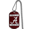 Alabama Crimson Tide NCAA Dog Tag Necklace *NEW*