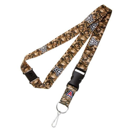 Arizona Wildcats NCAA Camo Lanyard *SALE*