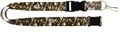 Atlanta Falcons NFL Brown Camo Lanyard