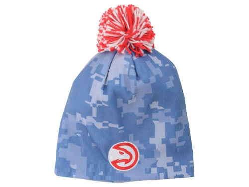 Atlanta Hawks NBA Pride Jersey Knit Cap with Pom *CLOSEOUT*
