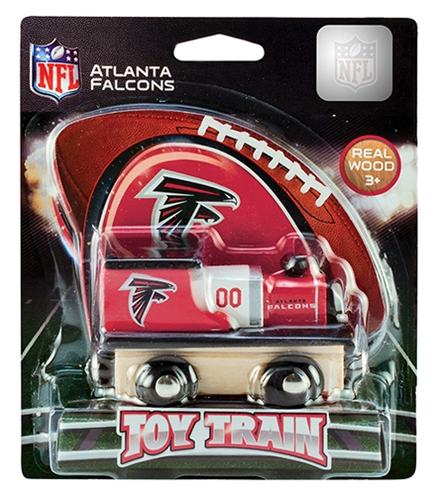Atlanta Falcons NFL Wooden TOY TRAIN