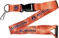 Auburn Tigers NCAA Orange Lanyard