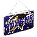 Baltimore Ravens NFL Metal License Plate Ornament *SALE*