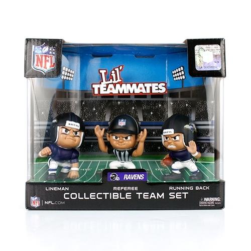 Baltimore Ravens NFL Lil Teammates 3 Piece Team Set *SALE*