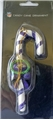 Baltimore Ravens NFL Resin Striped Candy Cane Ornament *CLOSEOUT* - Packaged
