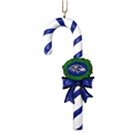 Baltimore Ravens NFL Resin Striped Candy Cane Ornament *CLOSEOUT* - 6 Count Case