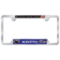 Baltimore Ravens NFL Metal License Plate Frame *CLOSEOUT*