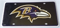 Baltimore Ravens 3rd Design NFL Printed Metal License Plate Tag *NEW*