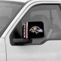 Baltimore Ravens NFL Mirror Covers - Large *CLOSEOUT*