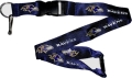 Baltimore Ravens NFL Purple Lanyard