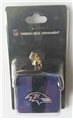 Baltimore Ravens NFL Resin Ribbon Box Ornament *CLOSEOUT* - 12 Count Case