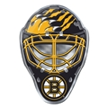 Boston Bruins NHL Goalie Mask Color Car Emblem *NEW*