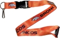 Denver Broncos NFL Orange Lanyard