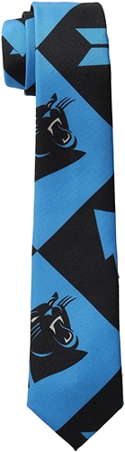 Carolina Panthers NFL PATCHES Printed Tie *NEW*