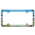Carolina Panthers NFL Stadium Full Color Plastic License Plate Frame *CLOSEOUT*