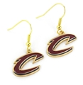 Cleveland Cavaliers NBA Gold Dangle Earrings