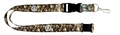 Boston Celtics NBA Brown Camo Lanyard
