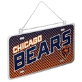 Chicago Bears NFL Metal License Plate Ornament *SALE*