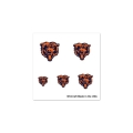Chciago Bears Logo NFL 20 Pack Fingernail Tattoos *CLOSEOUT*