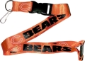 Chicago Bears NFL Orange Lanyard