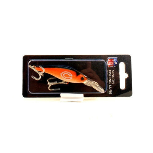 Chicago Bears NFL Minnow FISHING Lure *NEW*