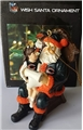 Chicago Bears NFL Resin Wish Santa Ornament *SALE*