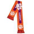 "Clemson Tigers BIG Logo NCAA 60"" Knit Scarf *SALE*"