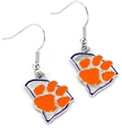 Clemson Tigers State Design NCAA Dangle Earrings *NEW*