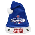 "Chicago Cubs 2016 MLB World Series Champions Holiday 18"" Christmas Santa Hat *CLOSEOUT*"