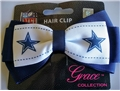 Dallas Cowboys NFL Grace Collection 2 Tone Bow Hair Clip *CLOSEOUT*
