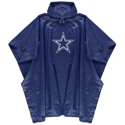 Dallas Cowboys NFL Blue Adult Rain PONCHO *NEW*