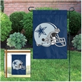 "Dallas Cowboys NFL 15""x10.5"" Embroidered 1-Sided Garden Flag"