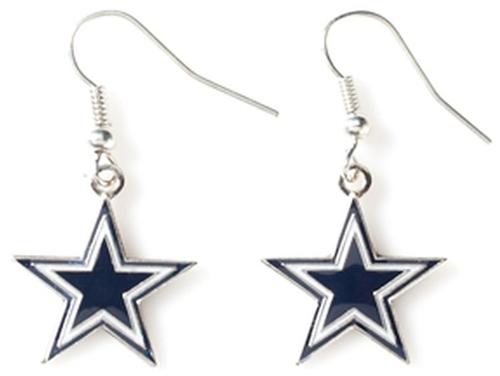 DALLAS COWBOYS Star NFL Dangle Earrings