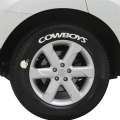 Dallas Cowboys NFL Team Tire Tatz Sidewall Decals Set of 2 *CLOSEOUT*