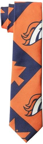 Denver Broncos NFL PATCHES Printed Tie *NEW*