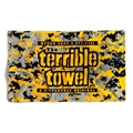 Pittsburgh Steelers Official Gold Digi Camo Terrible Towel  *NEW*
