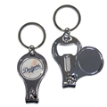 Los Angeles Dodgers MLB 3 in 1 Metal Key Chain *CLOSEOUT*