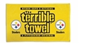Pittsburgh Steelers Official Gold Dual Logo Terrible Towel