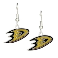 Anaheim Ducks NHL Silver Dangle Earrings