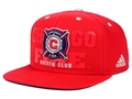 Chicago Fire Soccer Club Adidas MLS Academy Snapback Cap *CLOSEOUT*